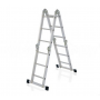 Лестница алюминиевая шарнирная 4х4 ступеней, ТL4044 Алюмет