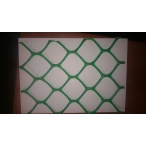 Сетка пластиковая заборная, ячейка 55х58